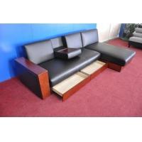多功能沙发床 带抽屉宜家风格沙发床 皮艺沙发床 带储物柜