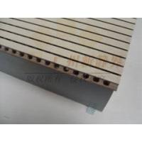 木质穿孔吸声板