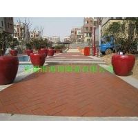 陶土砖 宜兴路面砖 广场砖 庭院砖