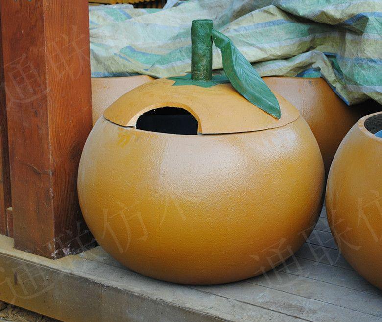 橘子小动物造型