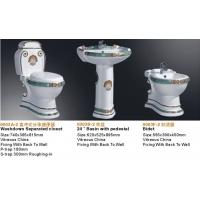 分体座便器,立柱盆,妇洗器