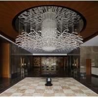 现代艺术大型灯、酒店艺术灯饰