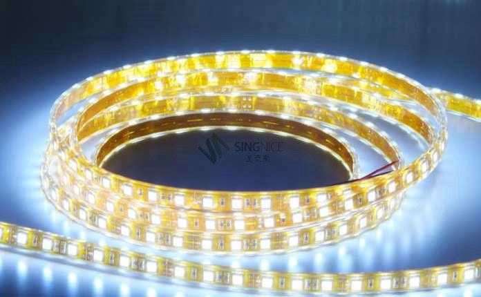 48灯珠5050防水led灯带
