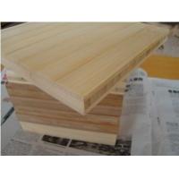 碳化色平压工字型竹板材各种厚度定制 碳平竹子板才