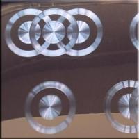 供应不锈钢玫瑰金镭射CD纹板