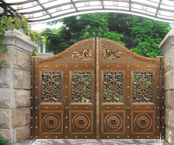 别墅铜门-别墅庭院门