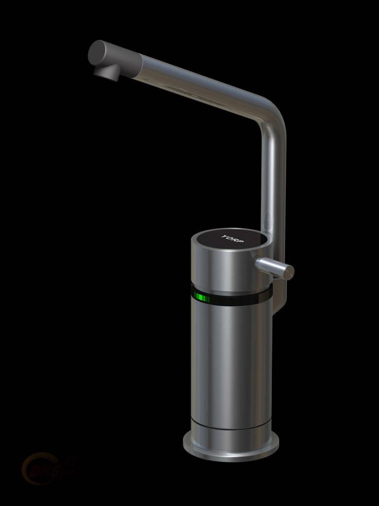 --------------继台下水龙头热水器后 为答谢新老用户对YORP快速电热水器产品系列的厚爱,美国YORP集团公司于2005年向中国大陆隆重推出YORP台上式水龙头热水器系列产品,YORP台上宝水龙头系列产品以其精湛的加工工艺,国际化品质,集热水与龙头于一体的安装方式,与各种高雅的家庭洁具配套使用,尽显华贵高雅。 YORP产品凭借其一流的品质,高超的技术,别致的外观为全球家庭卫生间用台盆、厨房用台盆以及公共场合之盥洗提供快速热水解决方案。 YORP快速电热水器元件全球化采购,日本欧姆龙提供的电气元