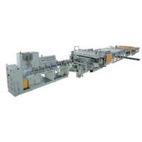 PC阳光板中空格子板生产线
