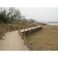塑木桥梁|陕西西安宏艺达塑木园林景观