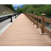 塑木栅栏护栏扶手|陕西西安宏艺达塑木园林景观