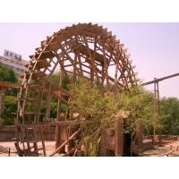 塑木水车船|陕西西安宏艺达塑木园林景观