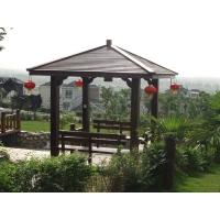塑木亭子|陕西西安宏艺达塑木园林景观