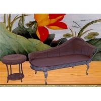 藤铁休闲家具-贵妃椅