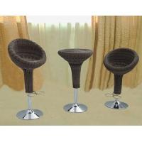 藤铁家具-吧台椅