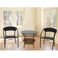 藤铁户外家具-休闲椅
