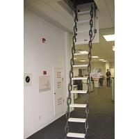 青岛钛合金阁楼楼梯 全自动阁楼楼梯 伸缩楼梯900元