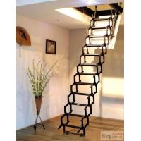 唯佳阁楼楼梯装修效果 我爱伸缩楼梯 阁楼楼梯效果图