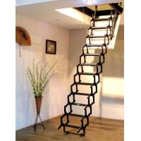 唯佳伸缩楼梯图片 伸缩楼梯价格 电动伸缩楼梯
