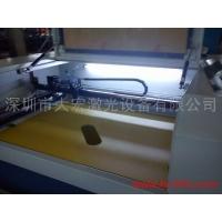 玻璃喷砂保护膜激光切割机 工艺玻璃、电器面板激光切膜机