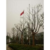 南京旗杆,锥形旗杆,电动升降旗杆,自动奏国歌旗杆